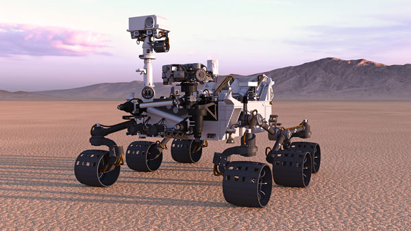 One in the sensing eye for Nasa's Mars Perseverance Rover thumbnail