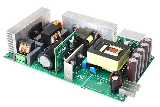 400W ac-dc PSU eval board meets toughest eco-design norms thumbnail