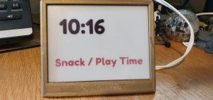 Raspberry Pi powers school clock e-ink display