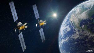 Intelsat подписывается на спутники OneSat для доступа в Интернет во время полета