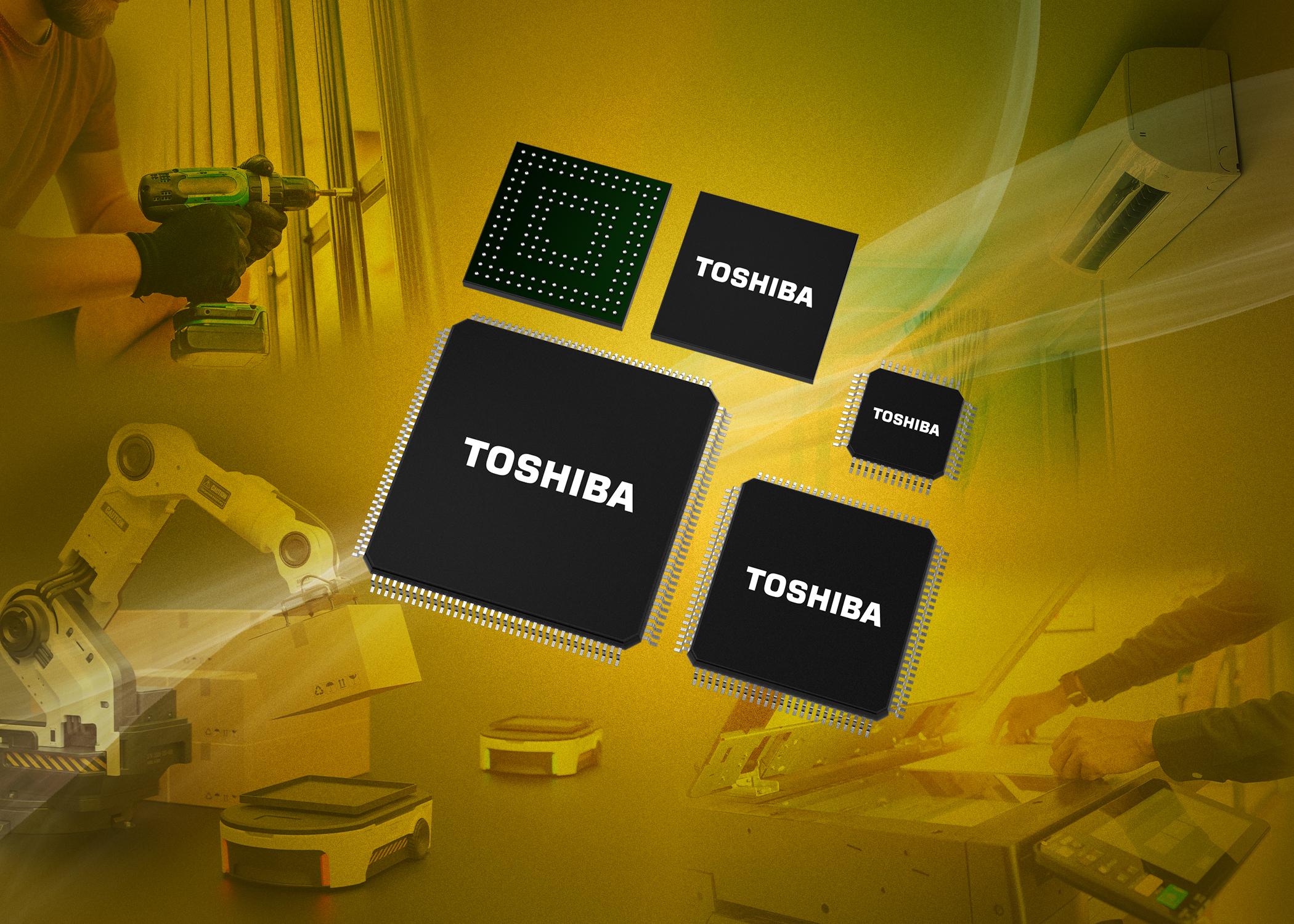 Toshiba adds Cortex-M based MCUs