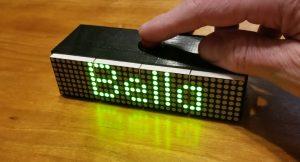 Arduino serves as random name generator display