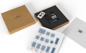 Невидимый электрохромный дисплей-комплект