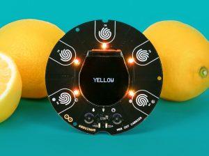 Arduino MKR IoT Carrier board is full of sensing