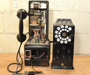 Raspberry Pi enables Bluetooth-connected retro payphone