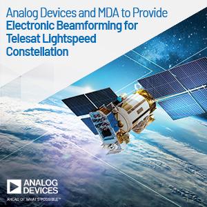 ADI chip to steer satellite communications beams