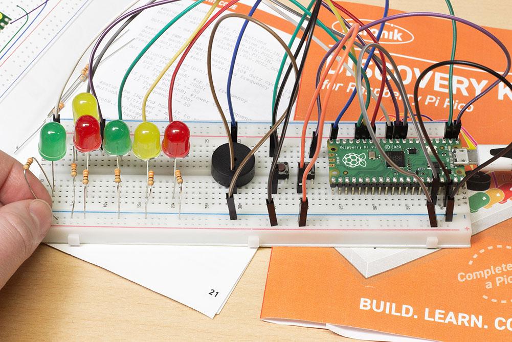 Kitronik creates discovery kit for the Raspberry Pi Pico