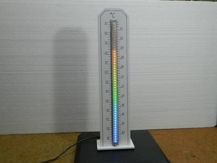 Arduino Nano thermometer takes room temperature