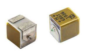 Vishay T24 SMD hi temp wet tantalum capacitors