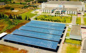 ST-Bouskoura solar panels