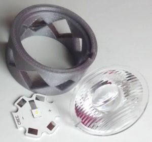 EinW LLC15E holder for X-P led