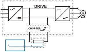 REO BWD158 breaking resistor cct