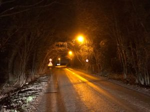 UKCEH DouglasBoyes sodium streetlights_Upper Heyford