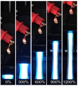 PusanNatU stretchy electroluminescent stretched