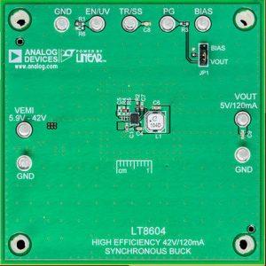Anglia LT8604 dcdc evel board