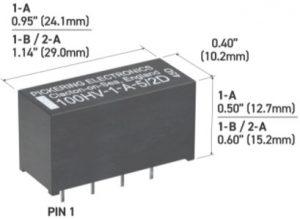 Pickering 100HV highVoltage reedRelay
