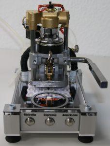 The BARTH EspressoMaker mini-PLC steams its way through coffee