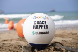 Google lays subsea cable for growing UK tech sector