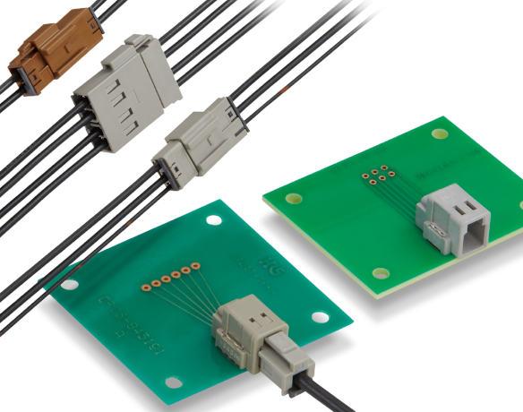 Space-saving 2.5GHz antenna connector