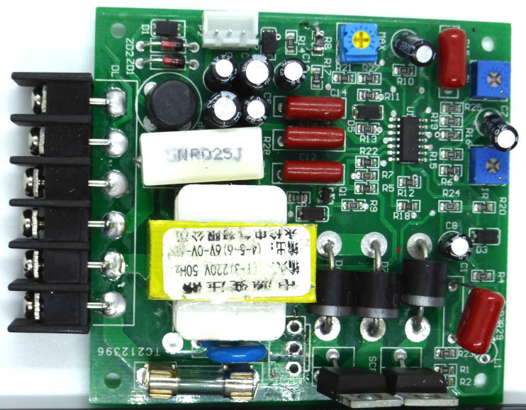 Reverse engineering a 'DC-51' motor controller